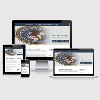 legal lawyer clients website design
